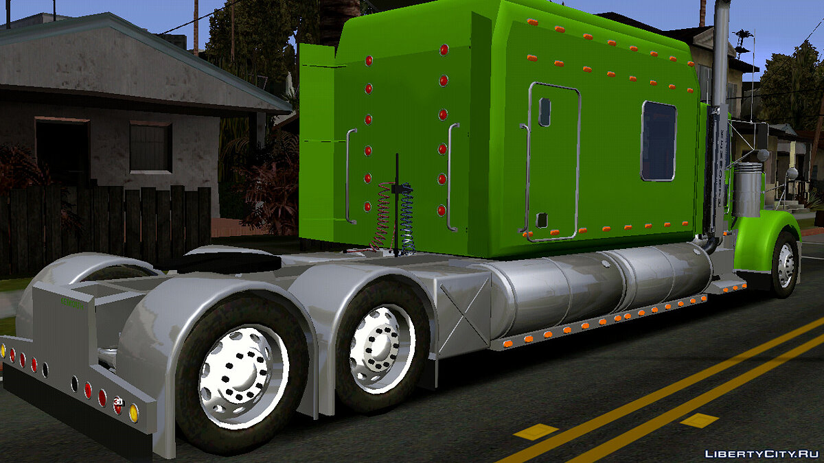 Car Kenworth W900 (DFF only) for GTA San Andreas (iOS, Android)