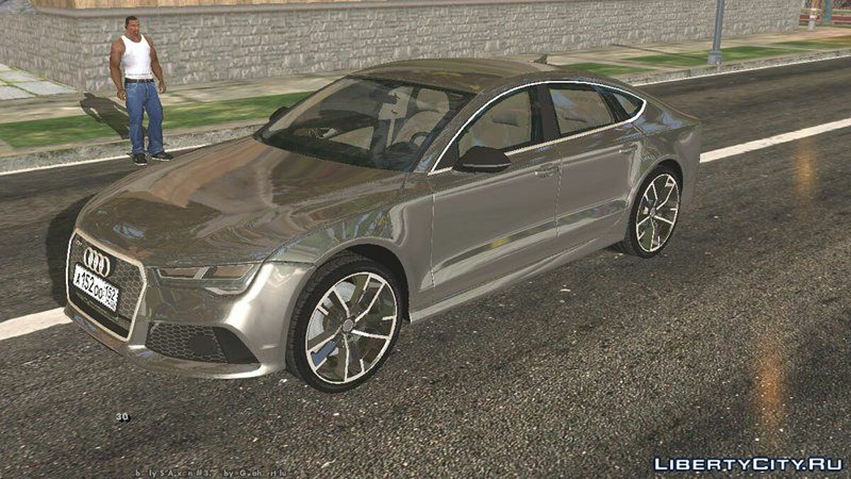 Car Audi RS 7 for GTA San Andreas (iOS, Android)