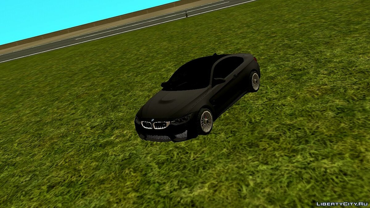 Car Bmw m4 for GTA San Andreas (iOS, Android)