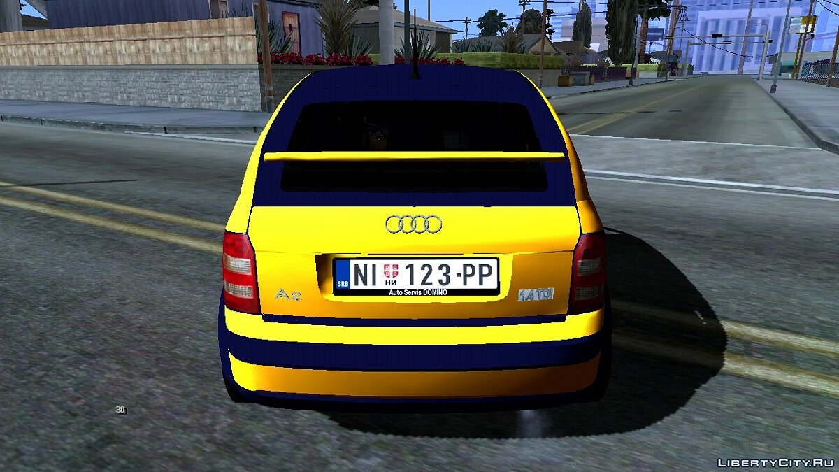Car 2003 Audi A2 for GTA San Andreas (iOS, Android)
