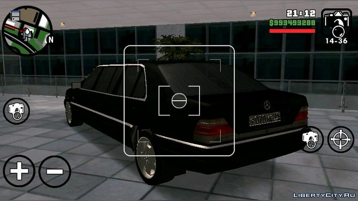 Car Mercedes Benz S600 Limousine for GTA San Andreas (iOS, Android)