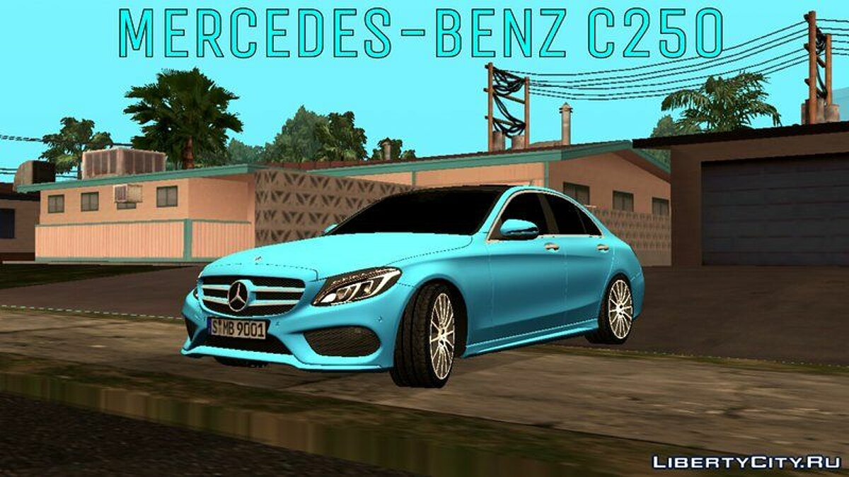 Car 2014 Mercedes-Benz C250 for GTA San Andreas (iOS, Android)