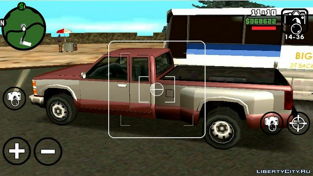 Car Chevrolet Silverado Yosemite Style for GTA San Andreas (iOS, Android)