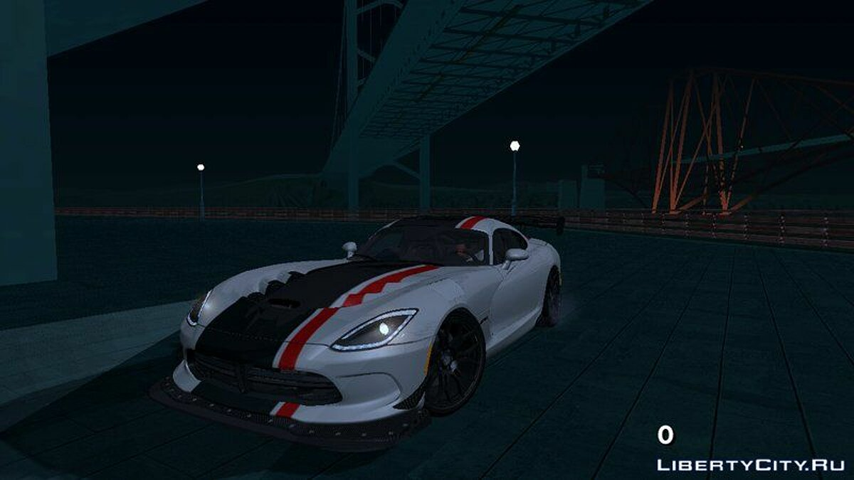 2017 Dodge Viper ACR for GTA San Andreas (iOS, Android) - Картинка #1