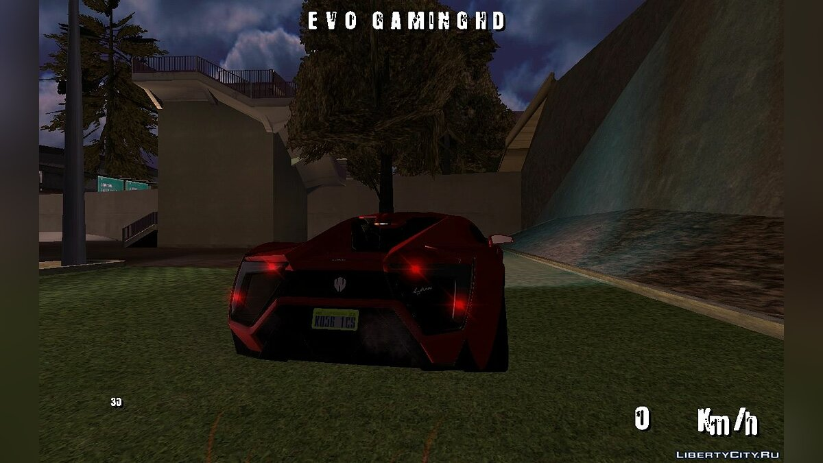 Car Lykan Hypersport 2013 (DFF only) for GTA San Andreas (iOS, Android)