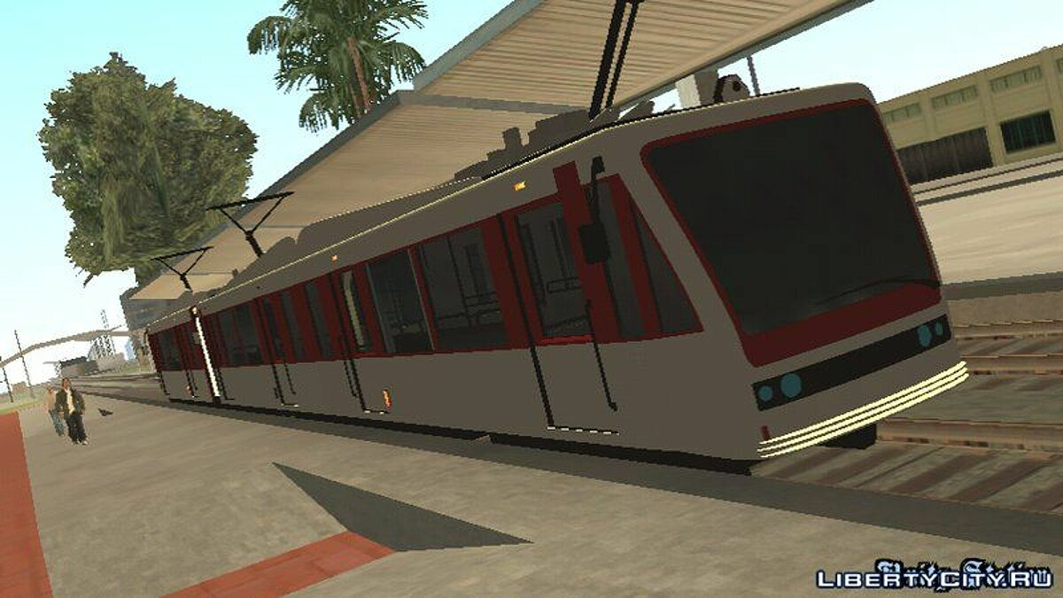 Car textures GTA V Transit Train Dff Only For Android for GTA San Andreas (iOS, Android)