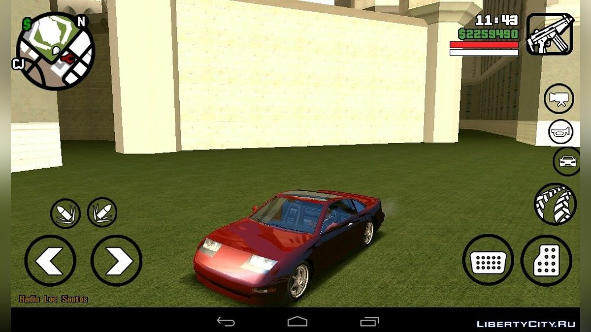 Car textures New colors for cars (Android) for GTA San Andreas (iOS, Android)
