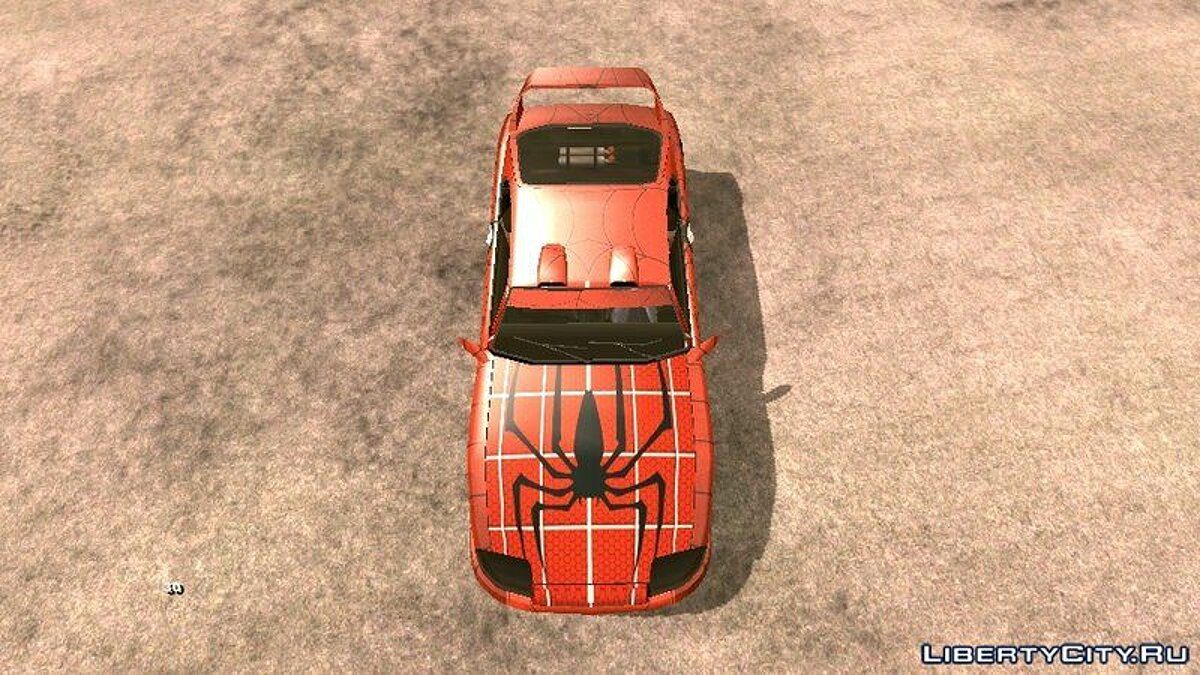 Car textures Spider-Man Coloring Book for Jester for GTA San Andreas (iOS, Android)