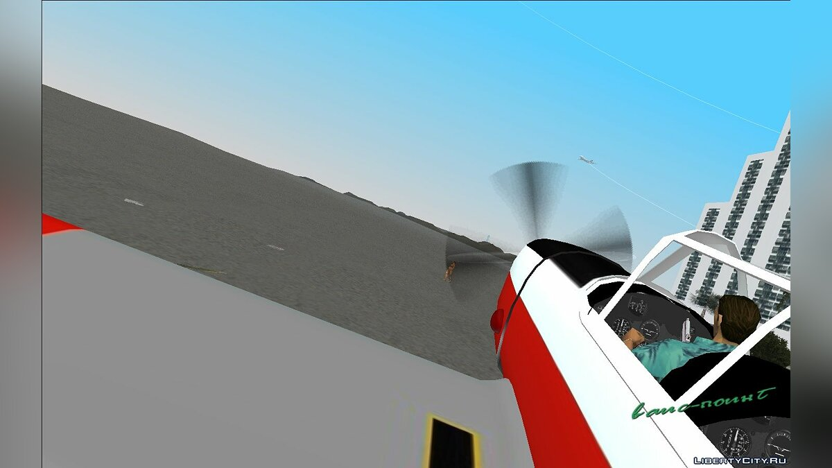 Planes and helicopters Chipmunk-T10 for GTA Vice City