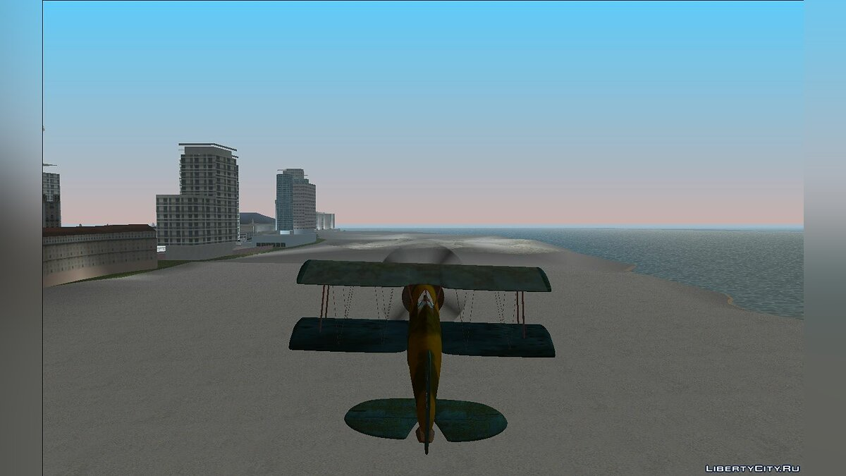 Planes and helicopters Gloster Gladiator MK1 VHiVH for GTA Vice City