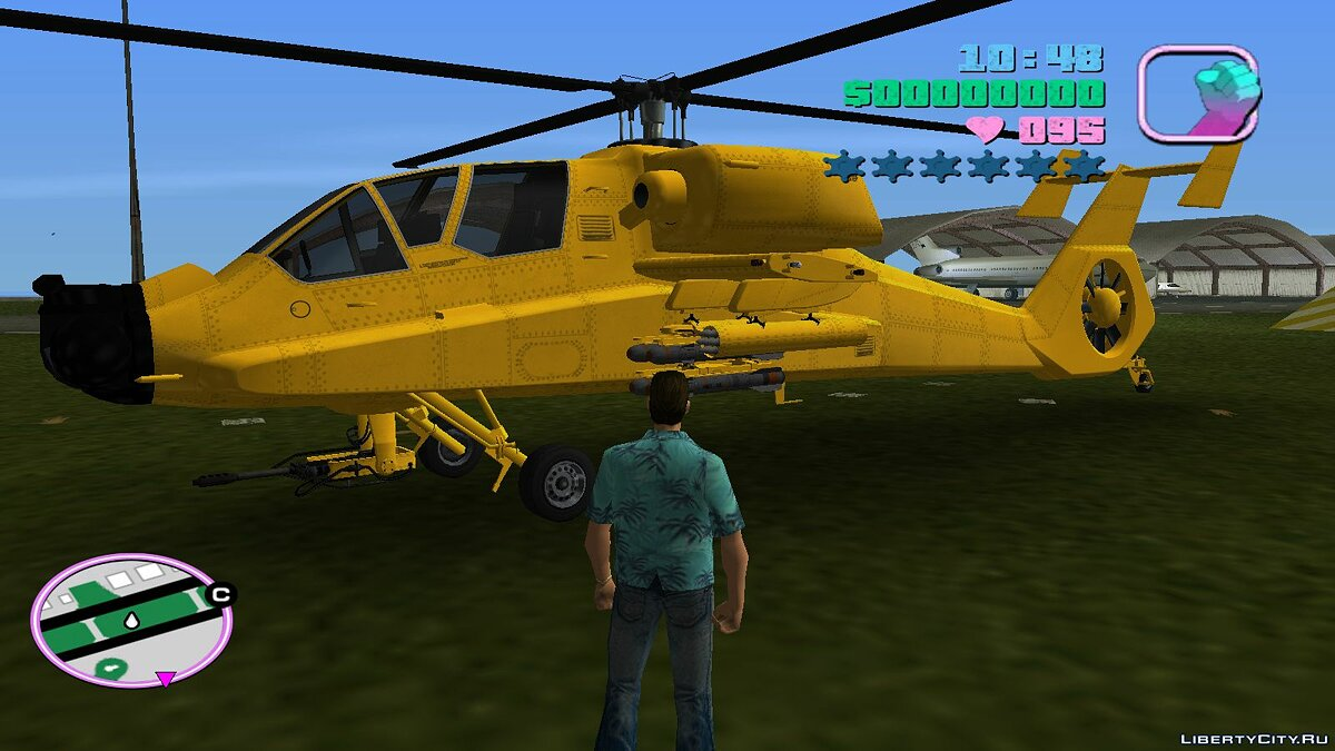 Planes and helicopters GTA V FH-1 Hunter for GTA Vice City