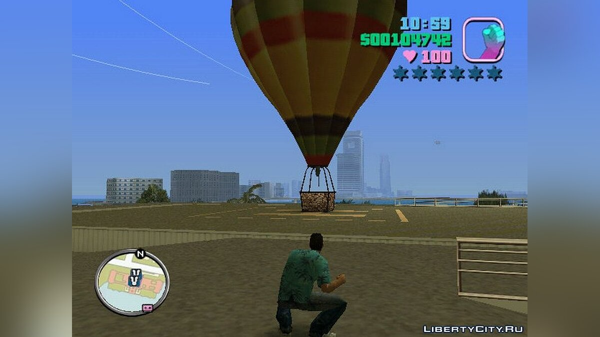 Planes and helicopters Balloon for GTA Vice City