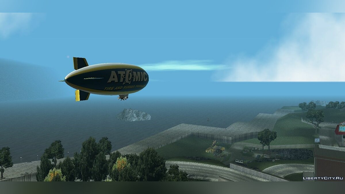Planes and helicopters Atomic blimp for GTA Vice City