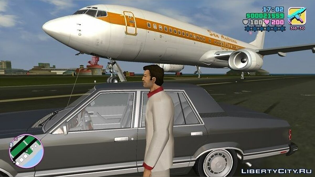 Planes and helicopters HD plane for GTA Vice City