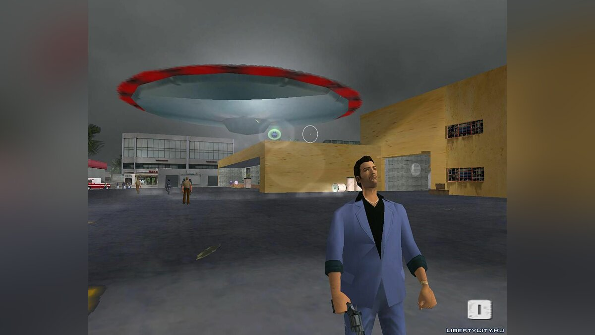 Planes and helicopters Flying saucer for GTA Vice City