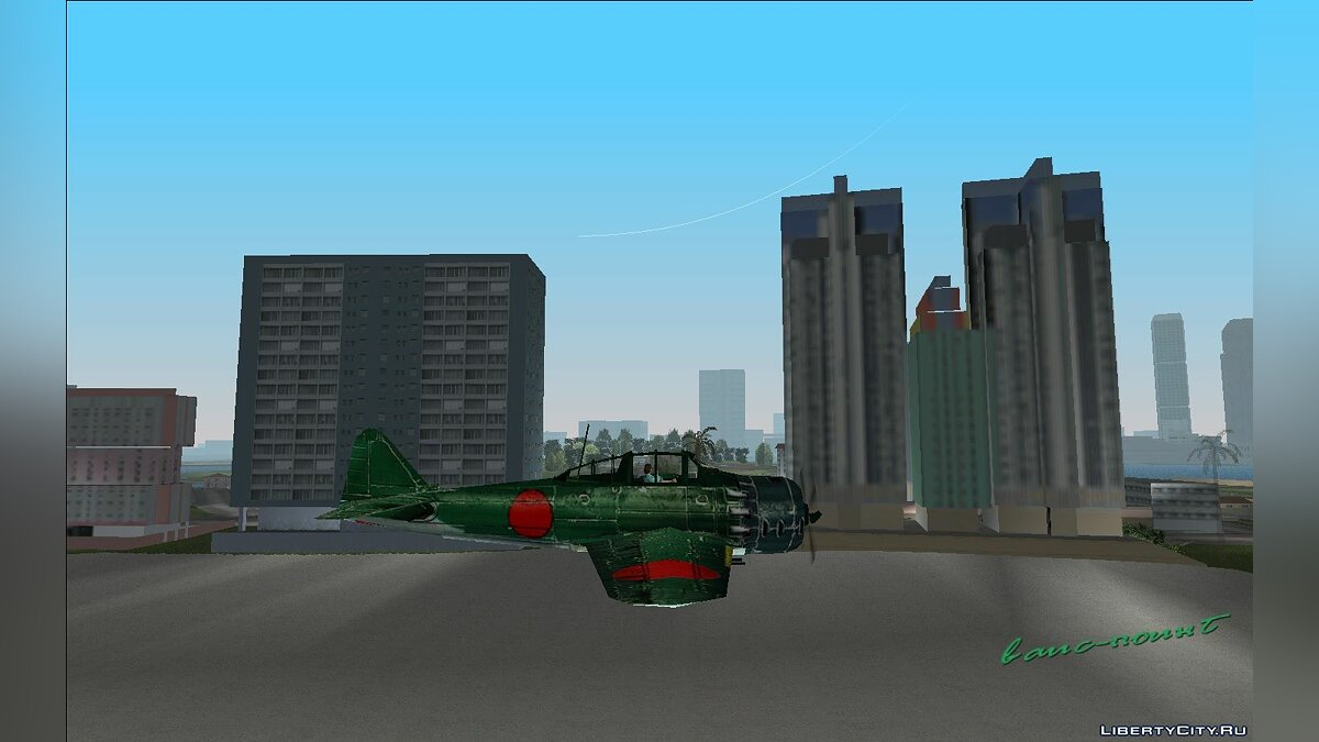 Planes and helicopters Zero Fighter for GTA Vice City