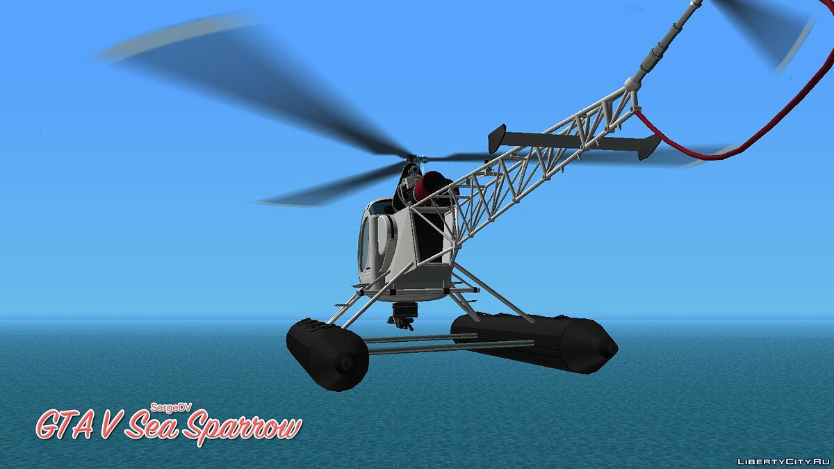 Planes and helicopters GTA V Sea Sparrow for GTA Vice City