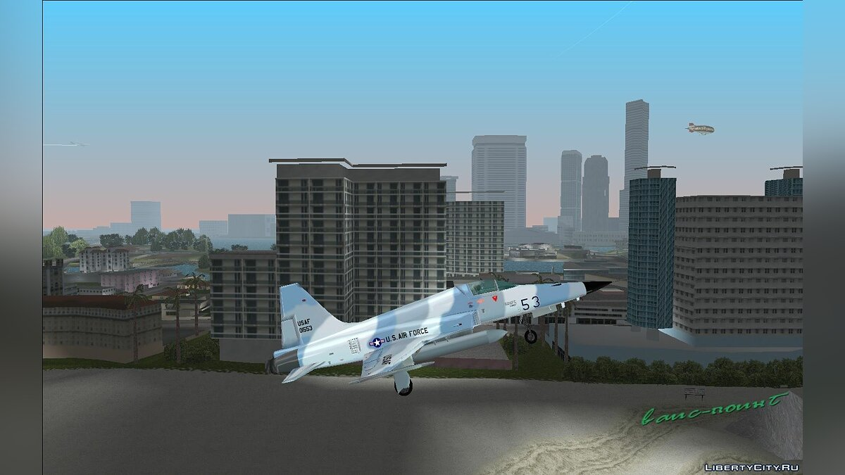 Planes and helicopters Northrop F-5 for GTA Vice City