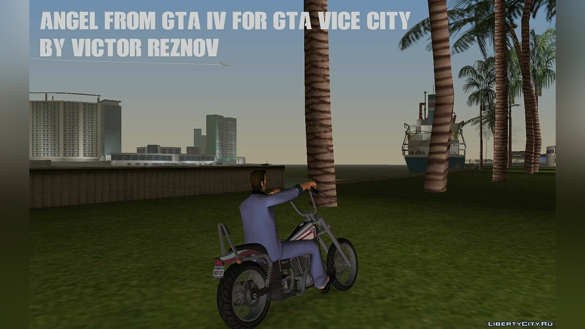 Motorbike Angel from GTA IV for GTA Vice City for GTA Vice City