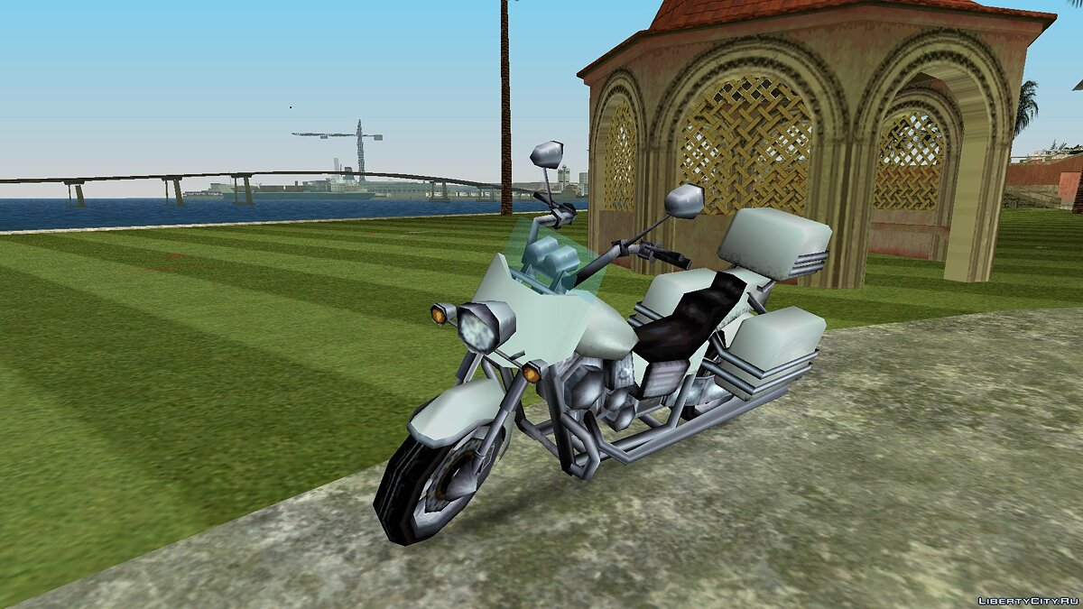 Motorbike PSP WinterGreen for GTA Vice City