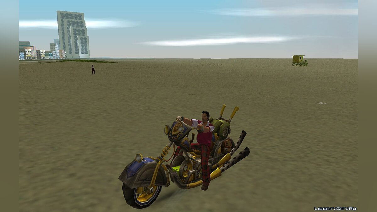 Motorbike Mechanocycle / Enginering Chopper for GTA Vice City