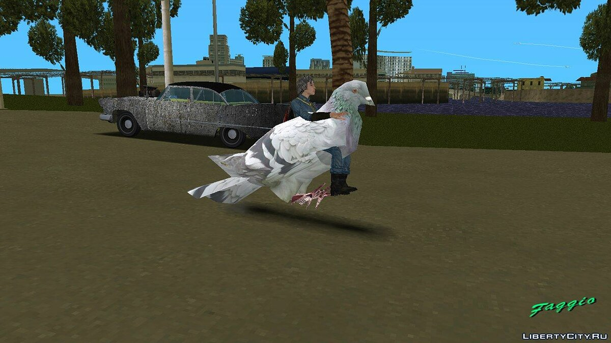 Motorbike Dove from Grand Theft Auto IV for GTA Vice City