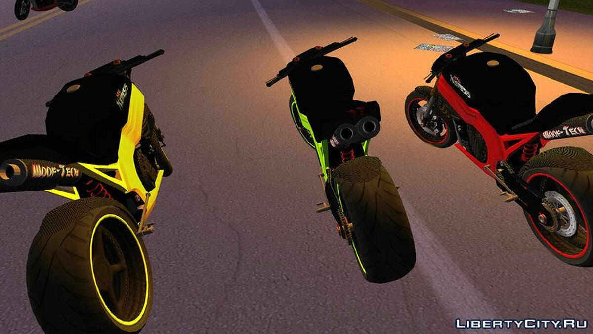 Motorbike NRG Nemesis for GTA Vice City