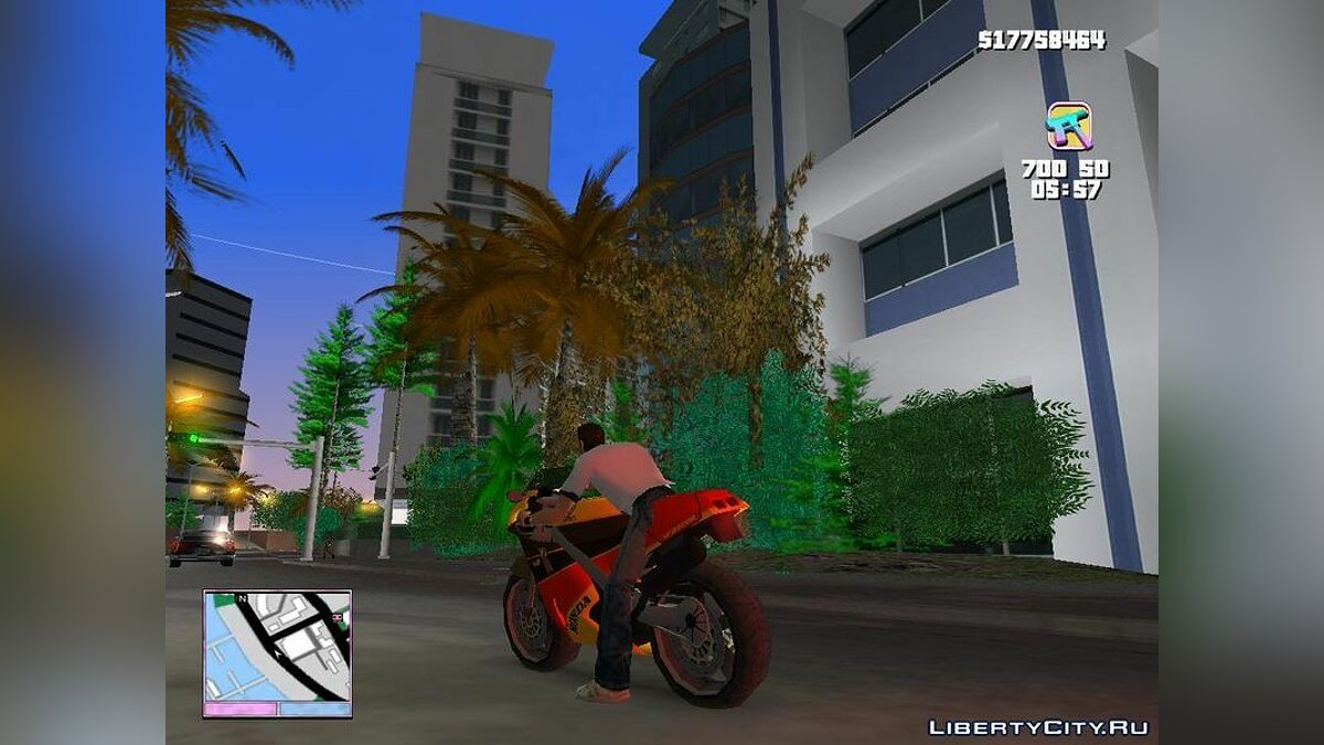 Motorbike Honda VFR 750R Bike for GTA Vice City