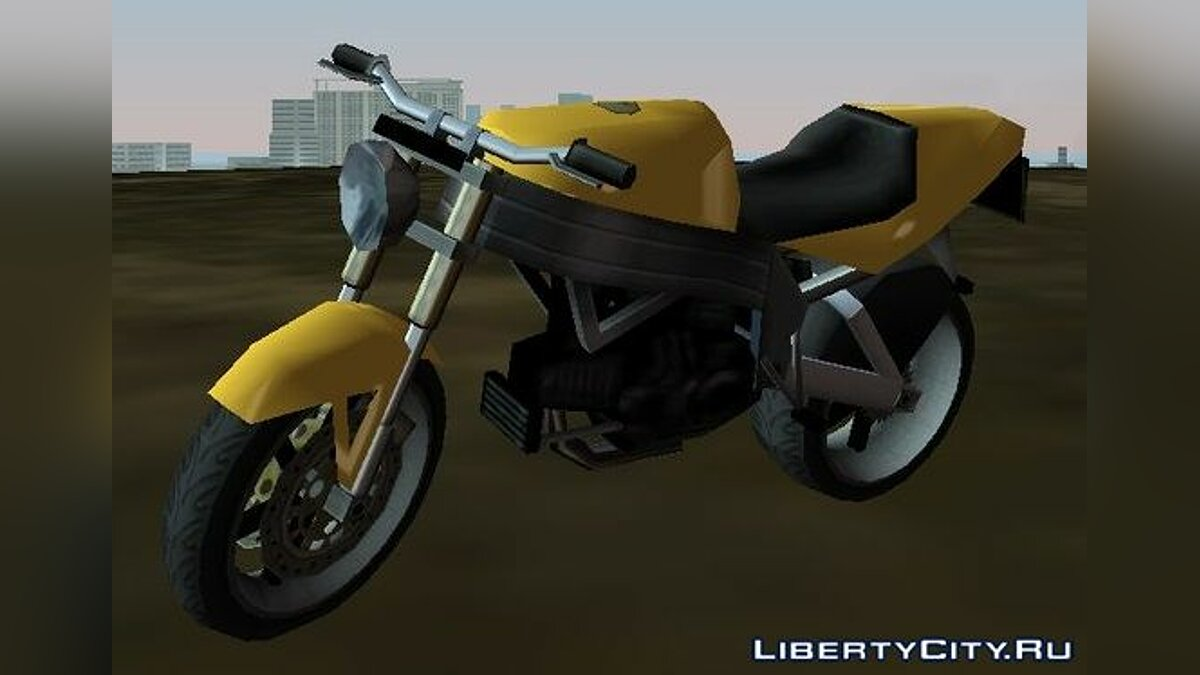 Motorbike FCR-900 for GTA Vice City