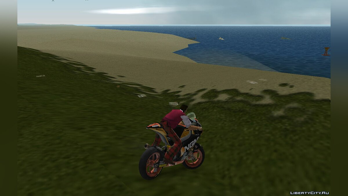Motorbike Motorcycle NGM Forward team for GTA Vice City