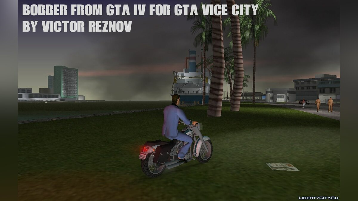 Motorbike Bobber from GTA IV for GTA Vice City for GTA Vice City
