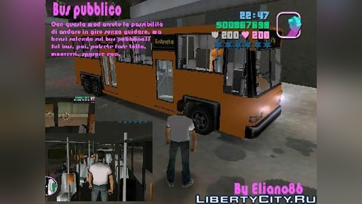 NahVerkehrs -Bus for GTA Vice City