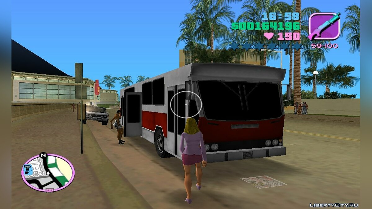 Bus Jelcz PR110 for GTA Vice City