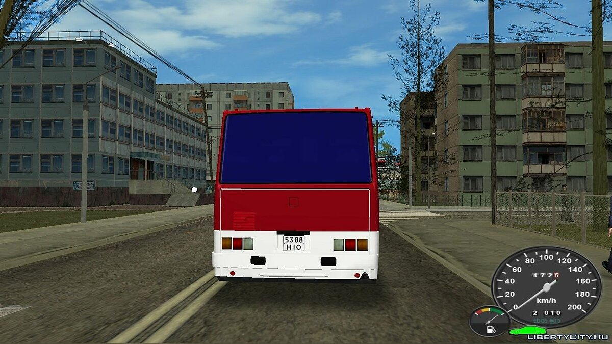 Bus Ikarus 256.54 for GTA Vice City