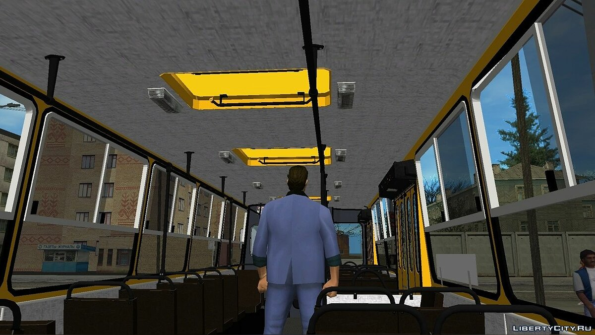 Bus Ikarus 260.37 for GTA Vice City