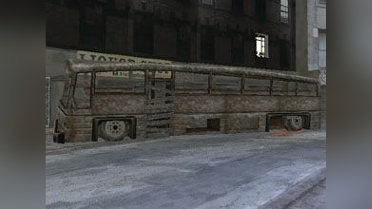 Bus Manhunt Coach for GTA Vice City