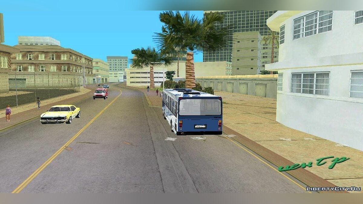 Bus LiAZ-5256 for GTA Vice City
