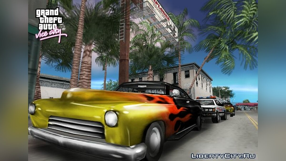 Car packs Some machines are from the beta version. for GTA Vice City