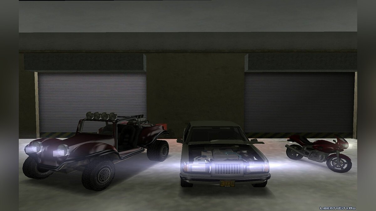 Car packs Transport from Khvokh version for GTA Vice City