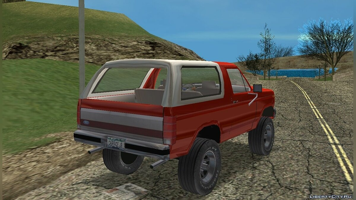 Car packs Ford Bronco and Ford F-150 for GTA Vice City