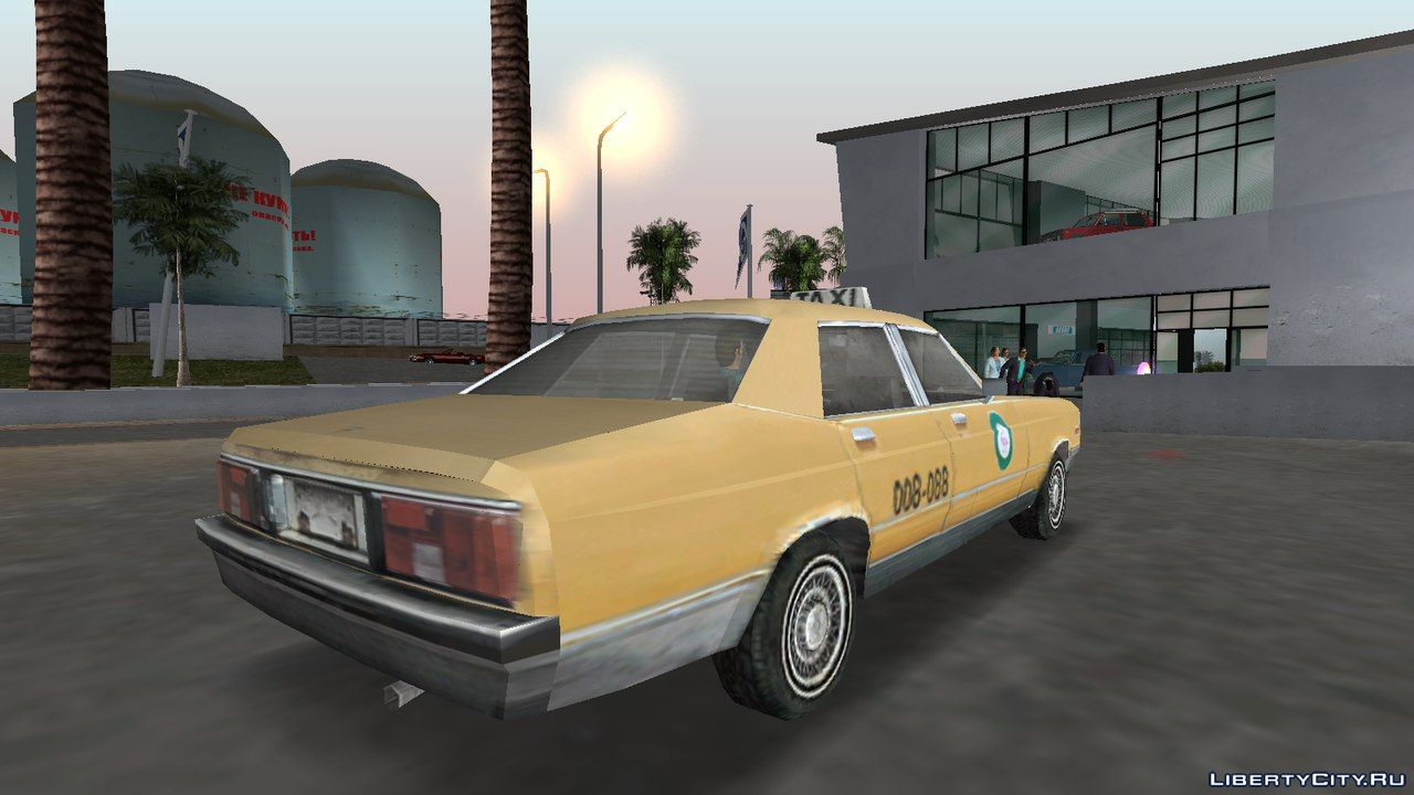 Flamingo Taxi From Driv3r For Gta Vice City