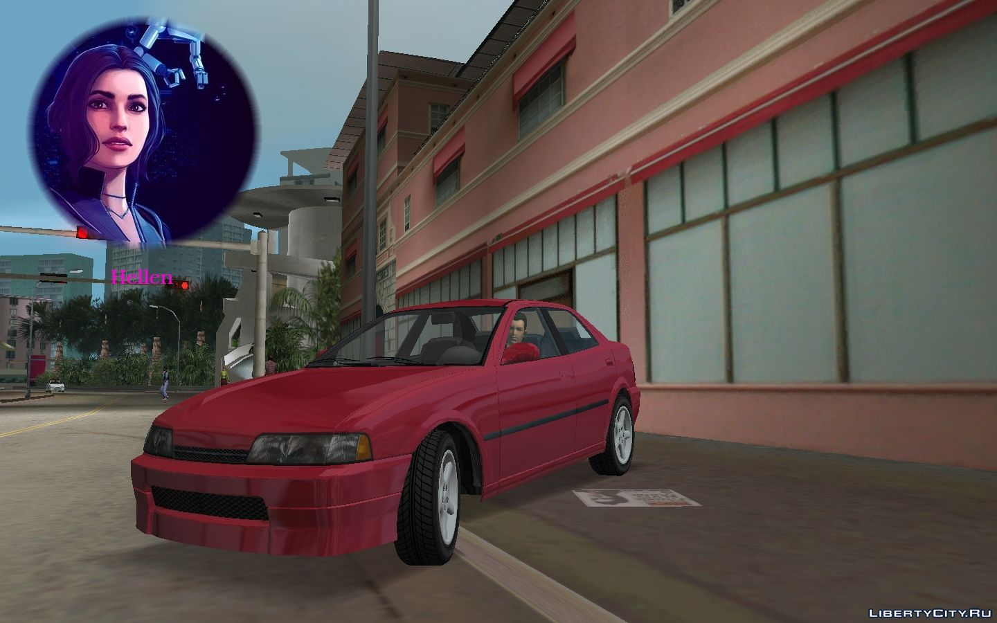 Replacement of taxi txd in GTA Vice City (17 file)
