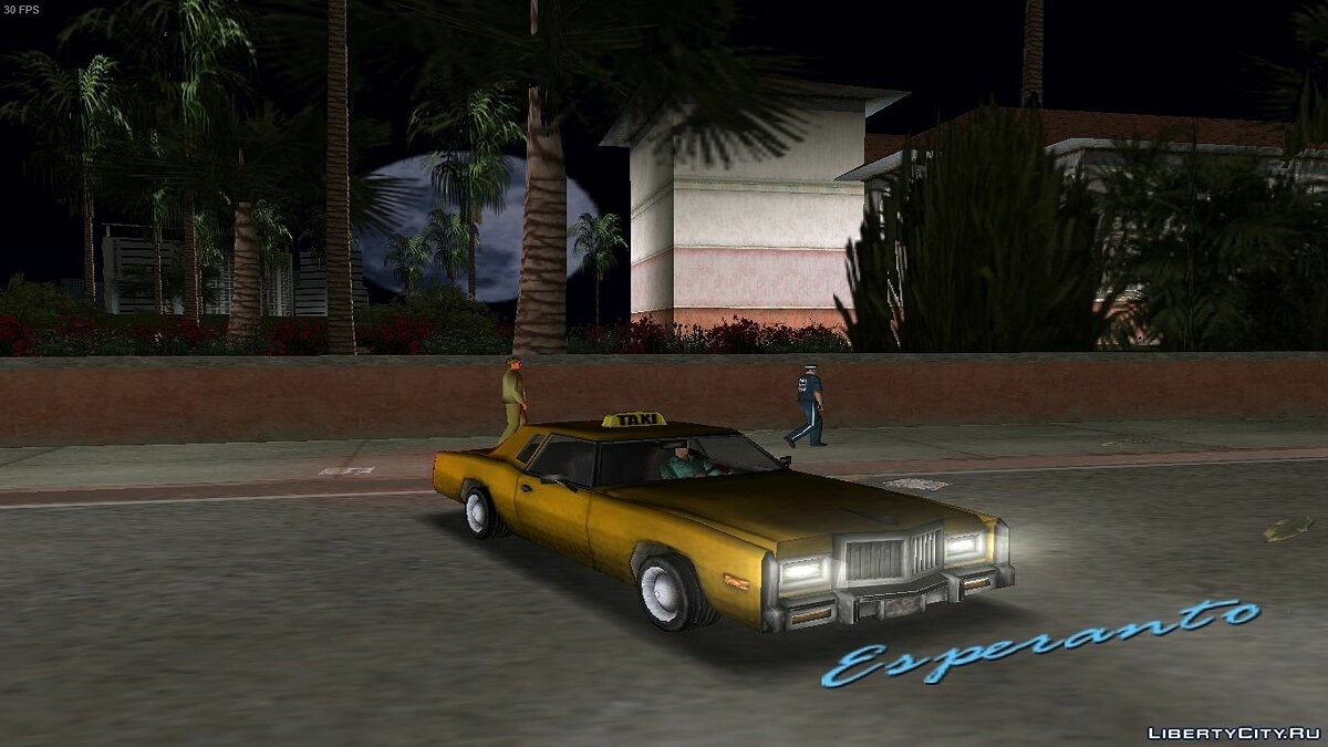 Car Esperanto Taxi for GTA Vice City