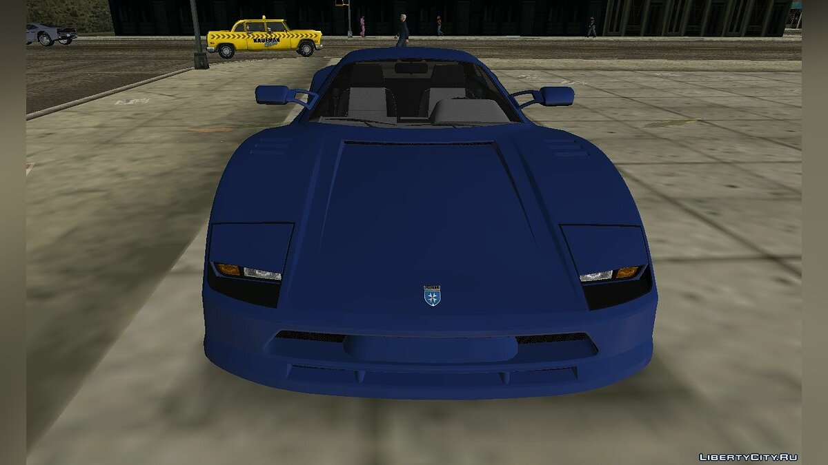 Car Grotti Turismo Classic from GTA 5 for GTA Vice City