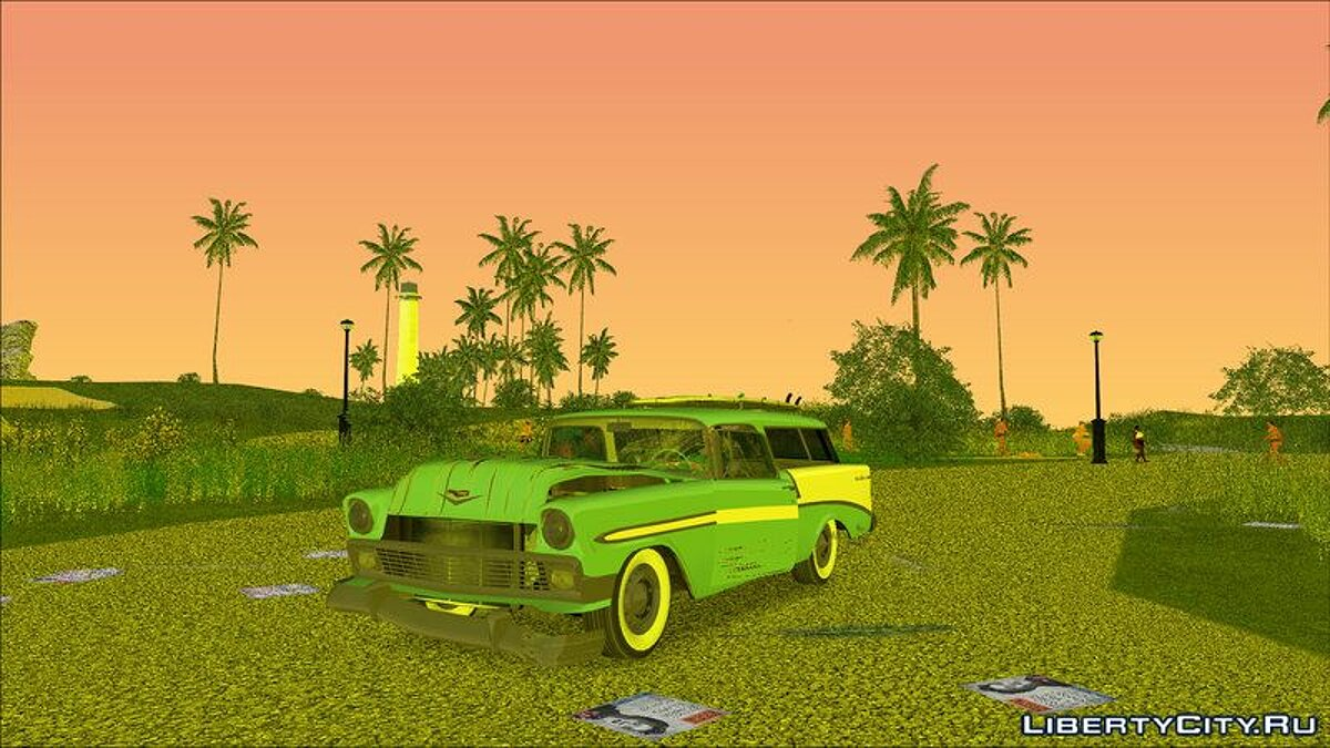Car Chevrolet Bel Air Nomad '56 for GTA Vice City