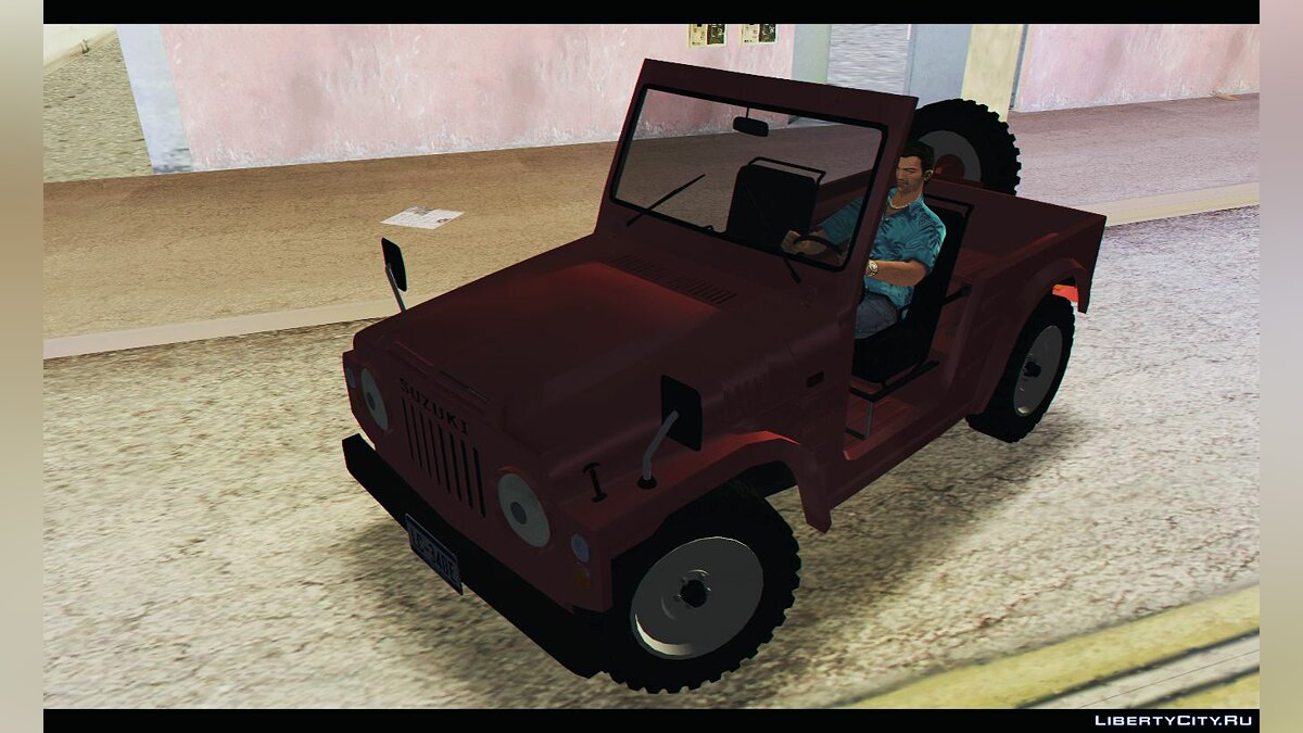 Car Suzuki Jimny SJ20 '79 for GTA Vice City
