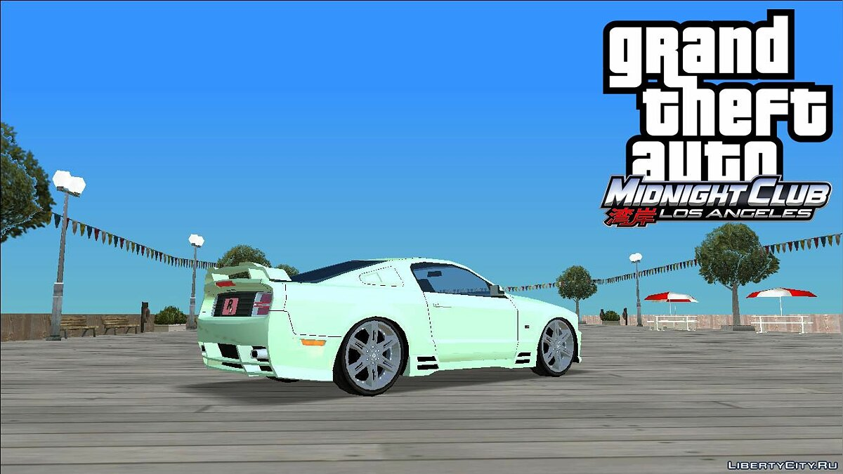 Car MCLA '08 S302 Extreme for GTA Vice City