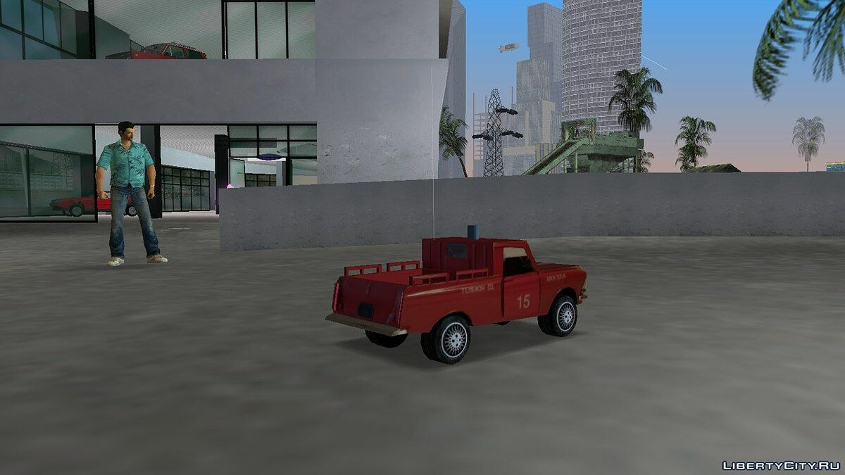 Car Agat-Mossar Moskvich 433 Pickup for GTA Vice City