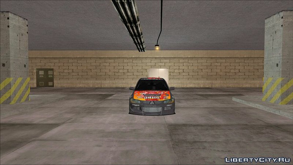 Car Mitsubishi Lancer Evolution 8 FQ400 for GTA Vice City