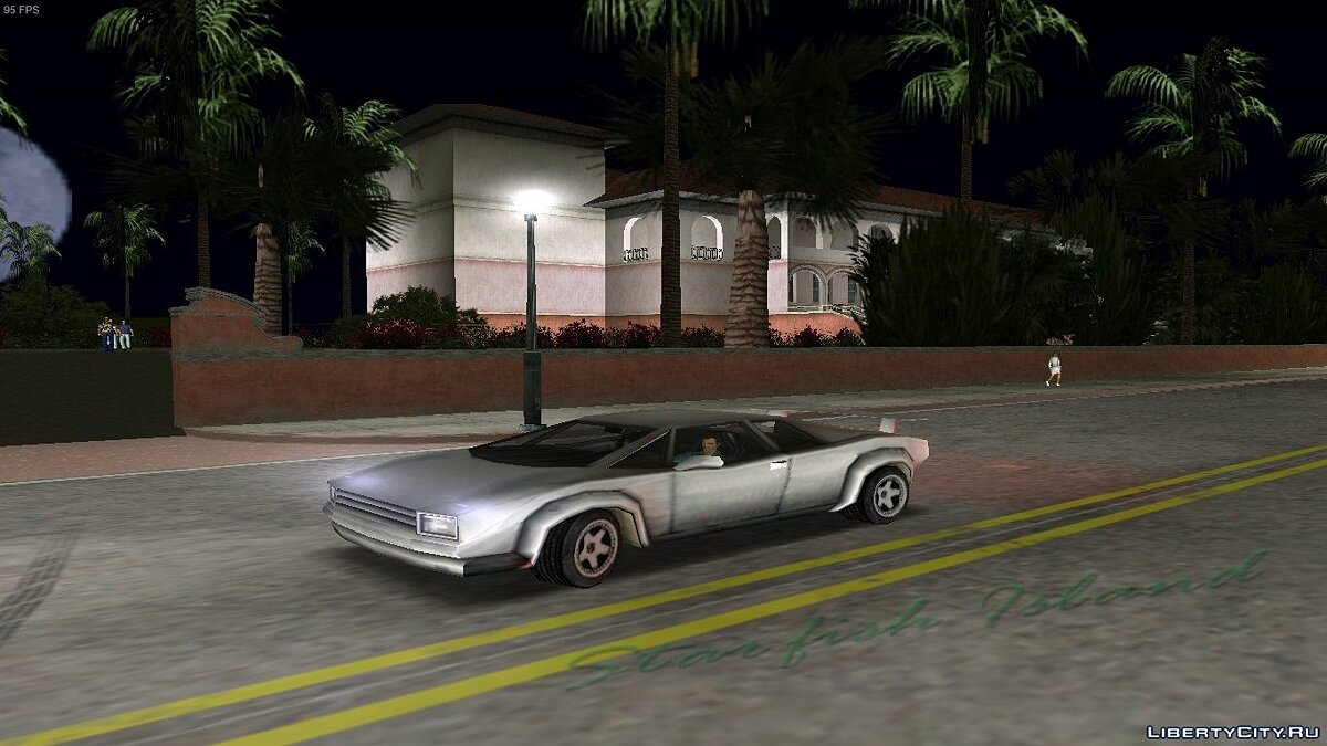 Car Infernus Classic V2 for GTA Vice City